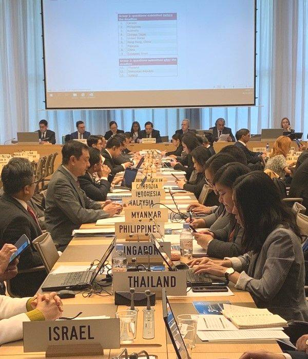 TPR of Lao PDR, WTO Room W, Session 1, 18.11.2019: The opening statements of Lao PDR and the Discussant.